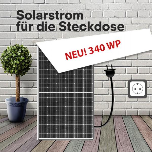 Steckdosen-Solarmodul